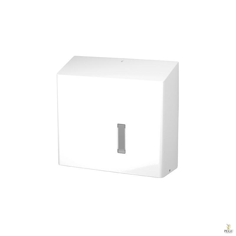 Держатель для туалетной бумаги RHU 31 P 330mm, Н/Р сталь, белый