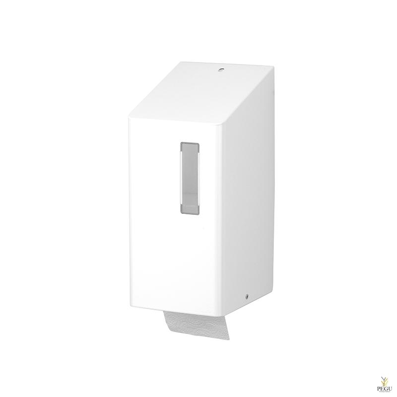 Ophardt WC paberi hoidja 2 rulli TRU 2 P  R/V teras valge RAL9010