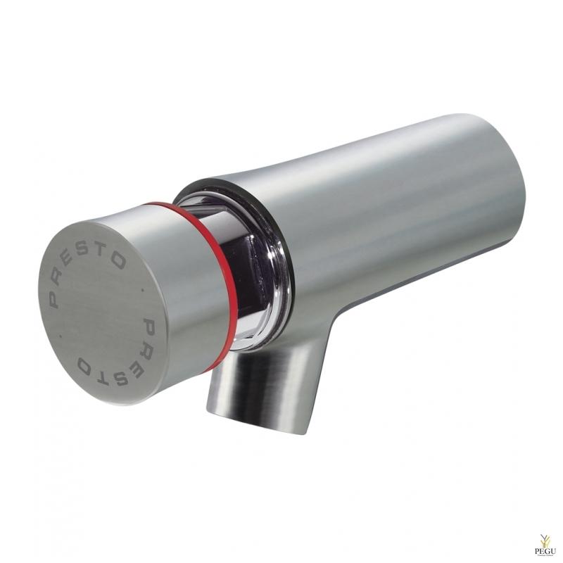 "Presto NEO INOX кран для смешанной воды 65mm 1/2"" PRESTOGREEN 7 sek автоматический"