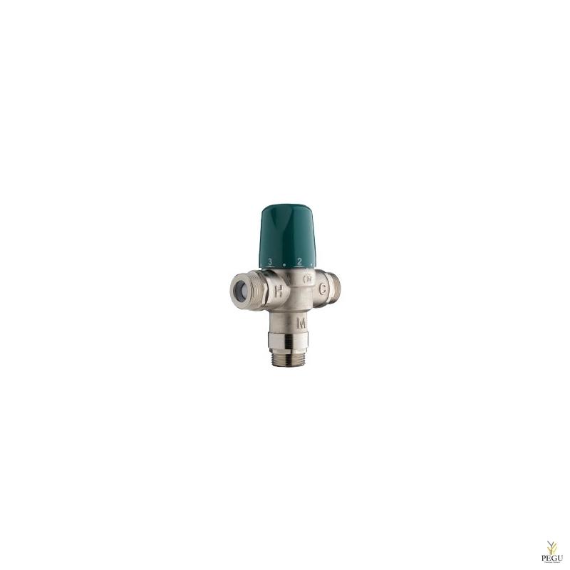 Терморегулятор с защитой, 5 раковин, или 3 душа, 60L/min 3bar