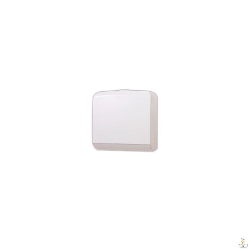 Дозатор для бумажных полотенец, ABS белый