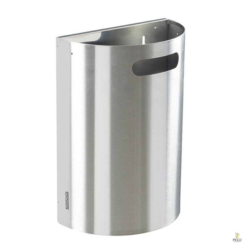 Урна для мусора ARKEA 20L съёмная настенная Н/Р сталь AISI304