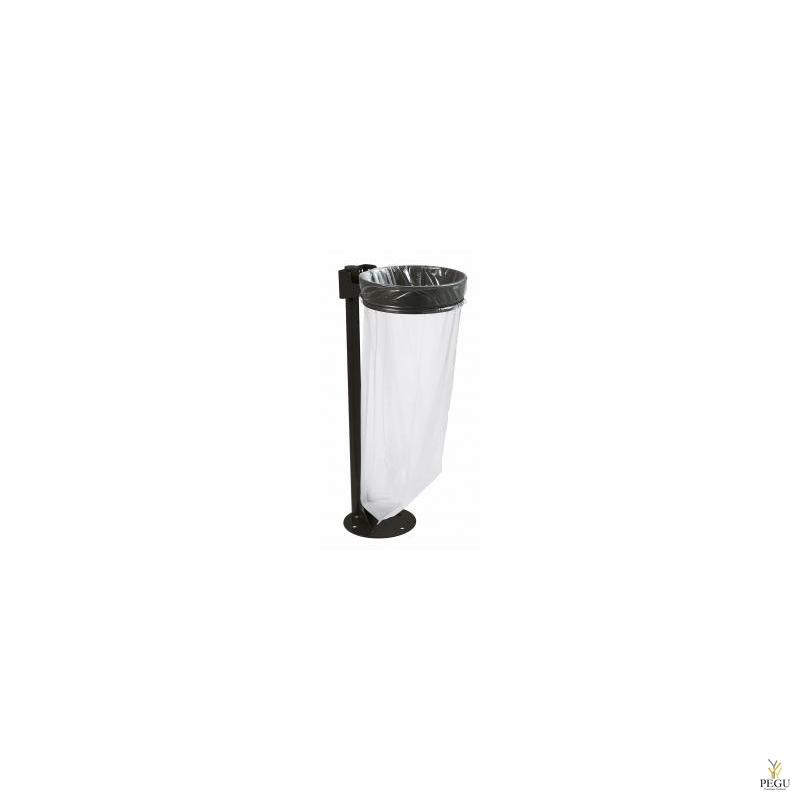 Держатель для мусорного мешка без крышки ECOLLECTO ESSENTIEL 110L напольный магний серый