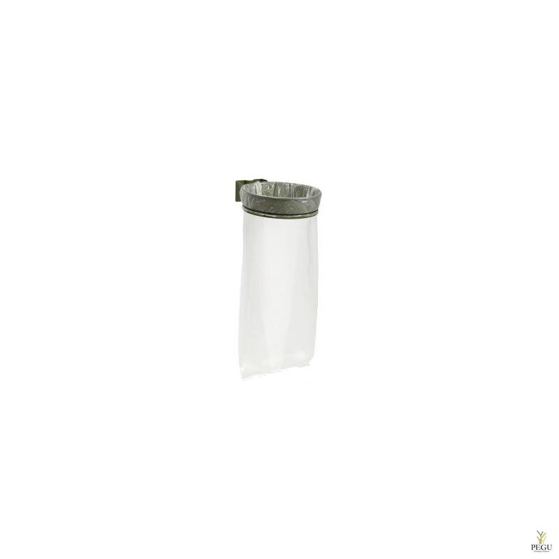 Дежатель для мусорного мешка ECOLLECTO ESSENTIEL 110L настенный olive зелёный RAL6003