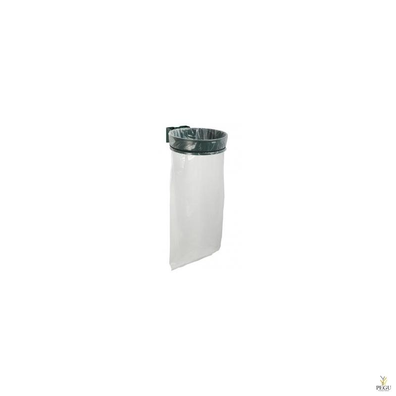 Prügikotihoidja ECOLLECTO EXTREME 110L seinale moss roheline RAL6005