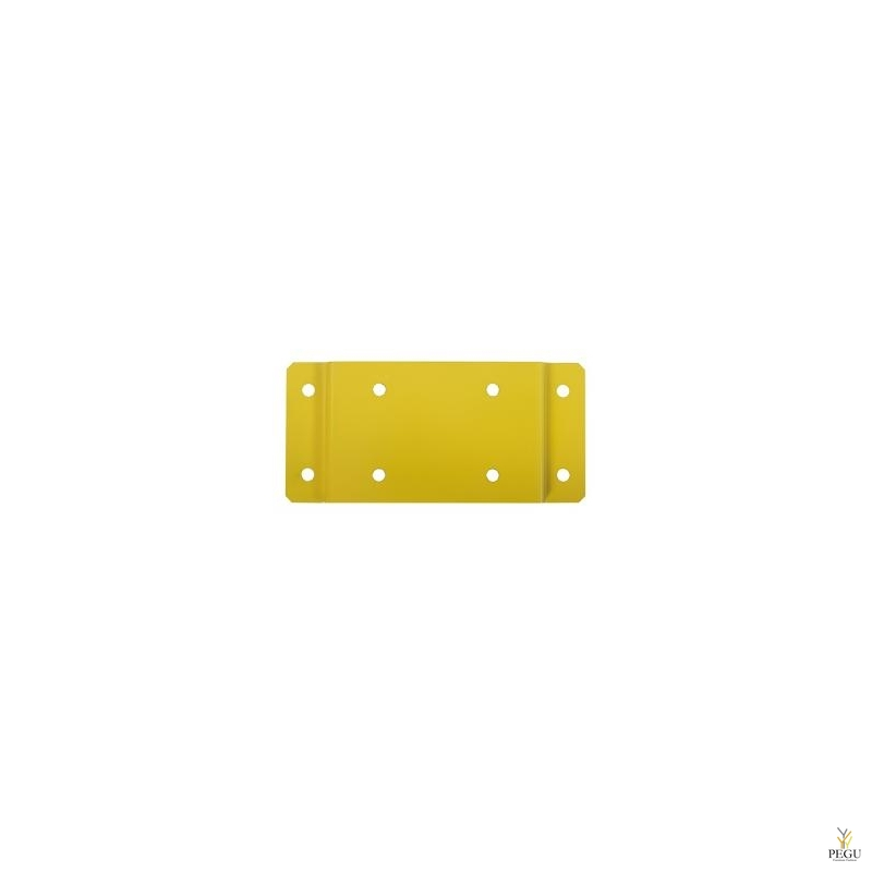 Seinakinnitus plaat kollane RAL1021