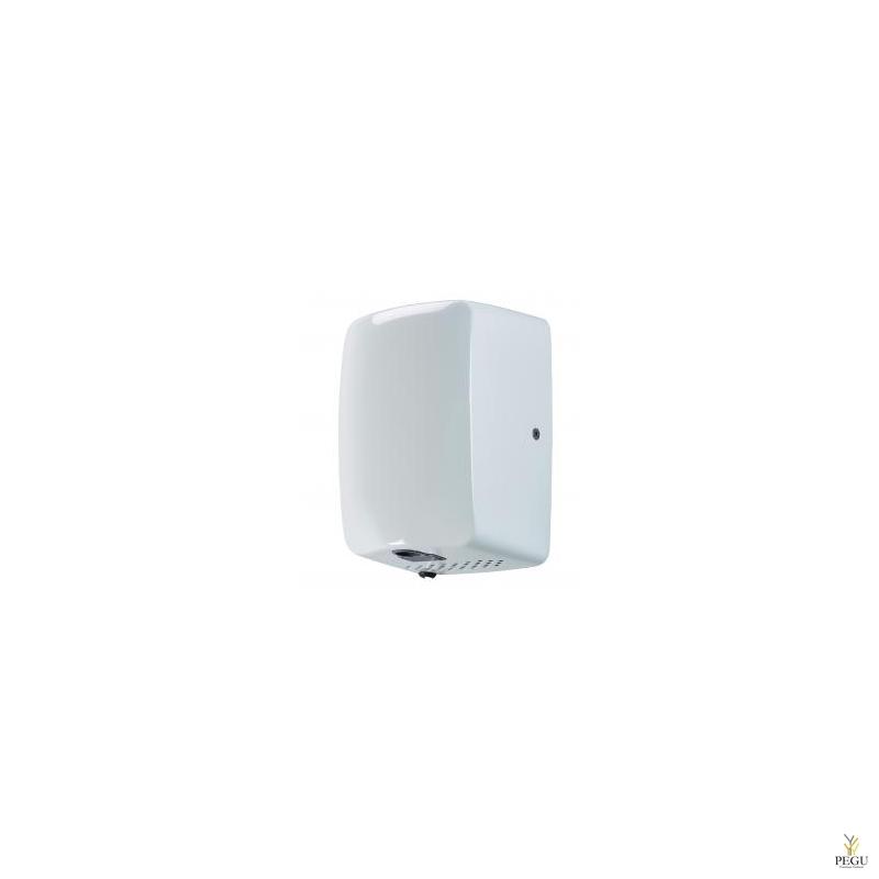 Kätekuivati Rossignol ZEFF 1150W 10-15 sek R/V teras AISI304 valge RAL9016