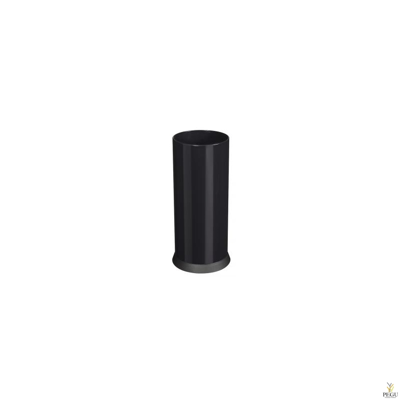 Vihmavarjuhoidja/paberiurn KIPSO 28L graphite must RAL9011