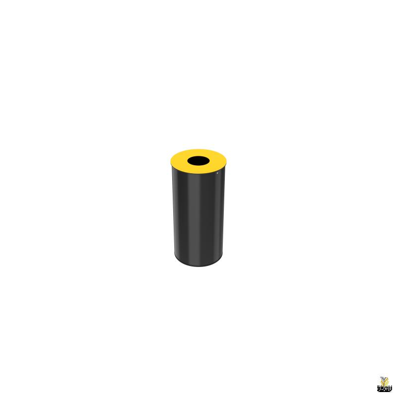 Sorteerimise prügikast Rossignol NEOTRI 50L, Yellow RAL1021