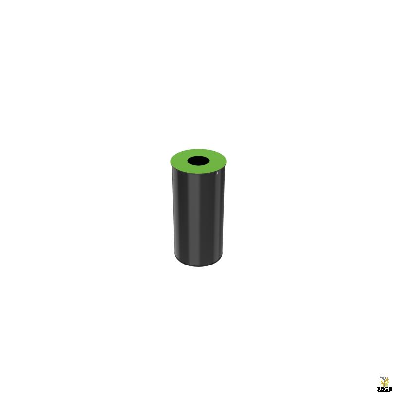 Sorteerimise prügikast Rossignol NEOTRI 50L, Green RAL6018
