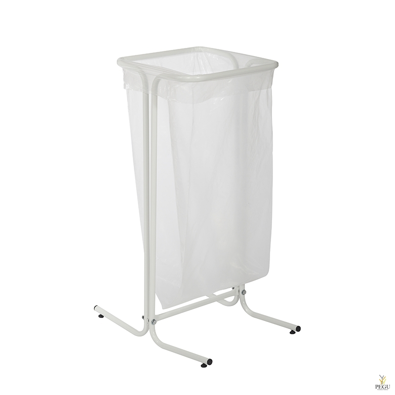 Рама для мусорных пакетов TUBAG 110L сталь окрашенная RAL9061 белый