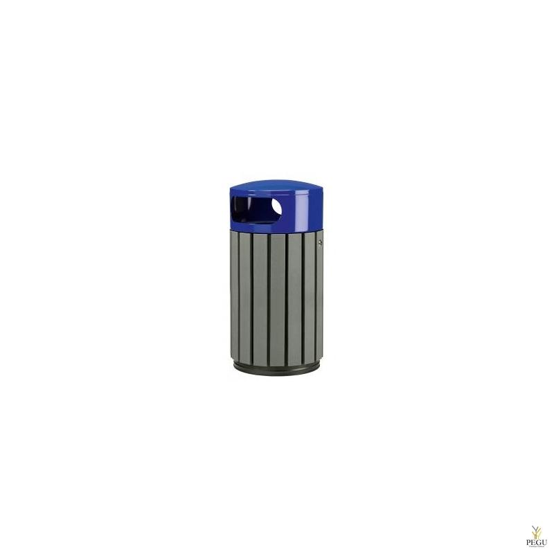 Prügikast Rossignol välitingimusele ZENO 40L hall puu/ sinine RAL5002