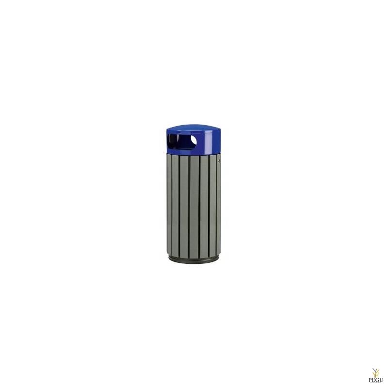 Prügikast Rossignol välitingimusele ZENO 60L hall puu/ sinine RAL5002
