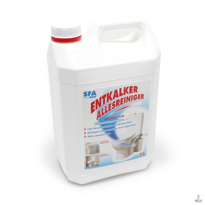 Hooldusvedelik SFA 5L (katlakivi vastane kaitsevedelik)