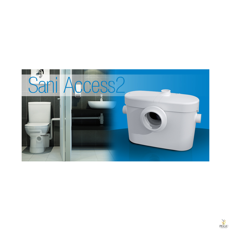 Saniaccess 2 ( sobib, WC pott + valamu )