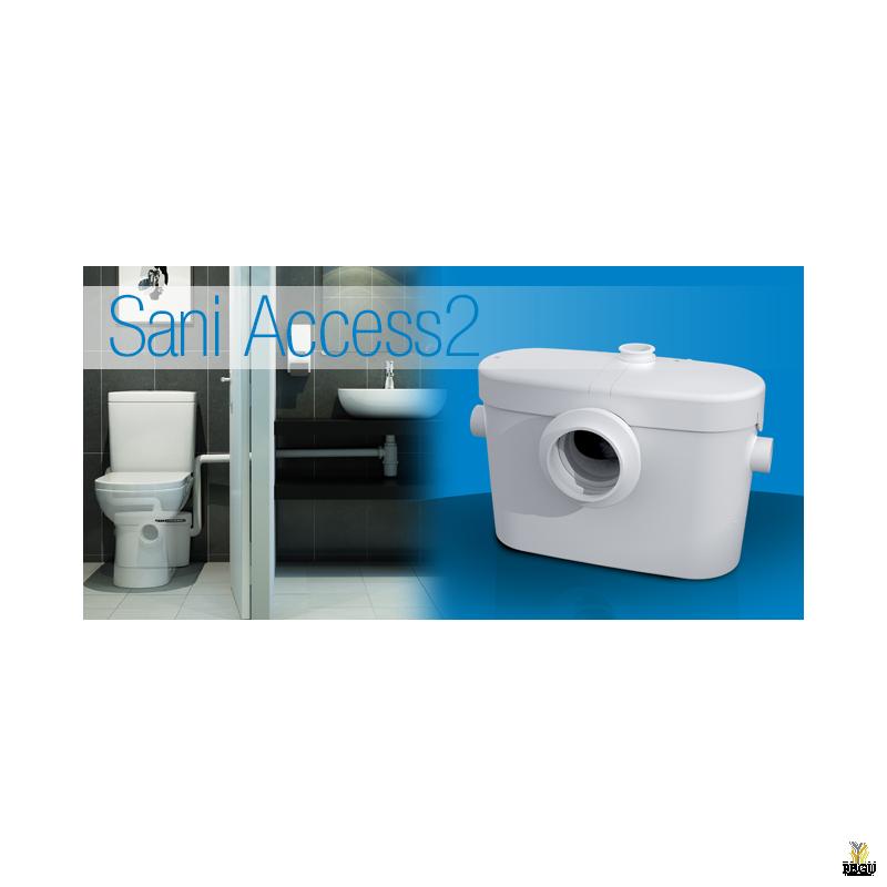 Saniaccess 2 ( sobib, WC pott + valamu )