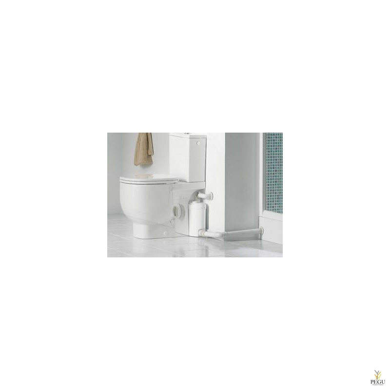 Sanislim ( sobib: WC pott + valamu + dušš + bidee )