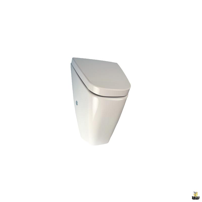 Керамический писсуар с крышкой Vila с радаром Sanela,  с встроенным источником питания 230V/ AC