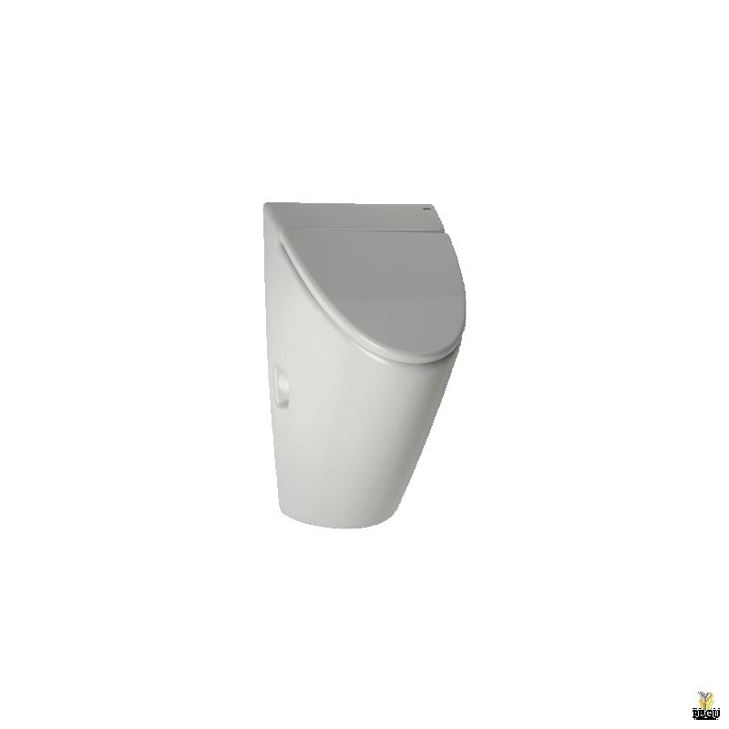 Keraamiline pissuaar kaanega Arq GALA radariga Sanela,  integreeritud adapter 230V/ AC