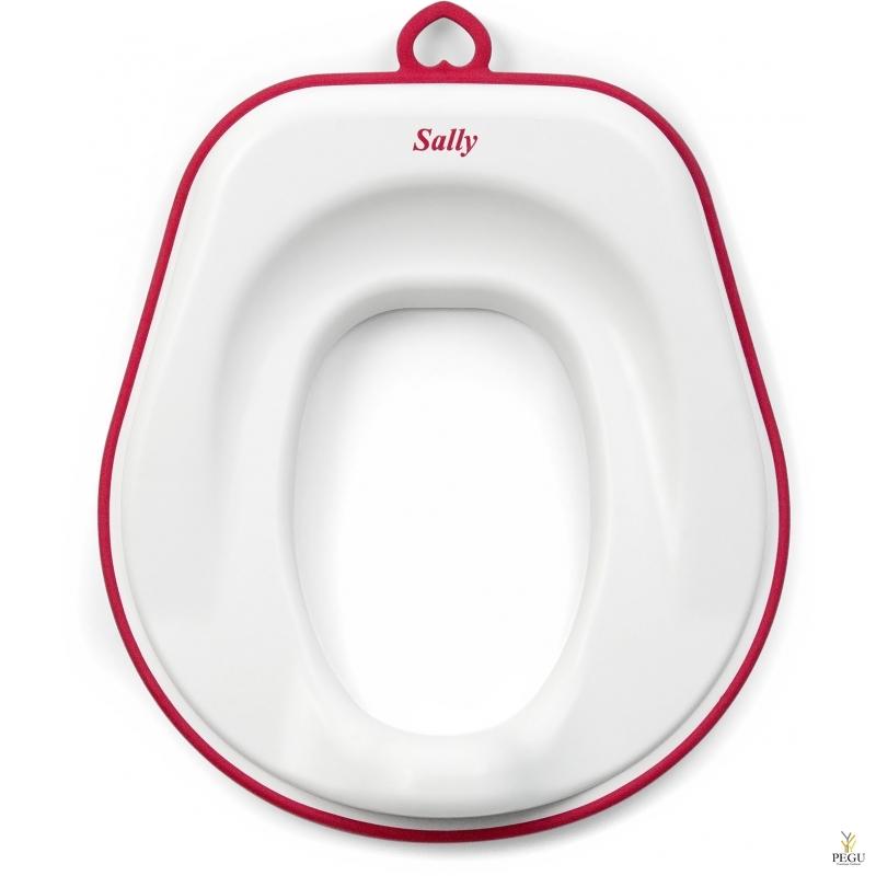 Separett детское сиденье Sally, красный рант