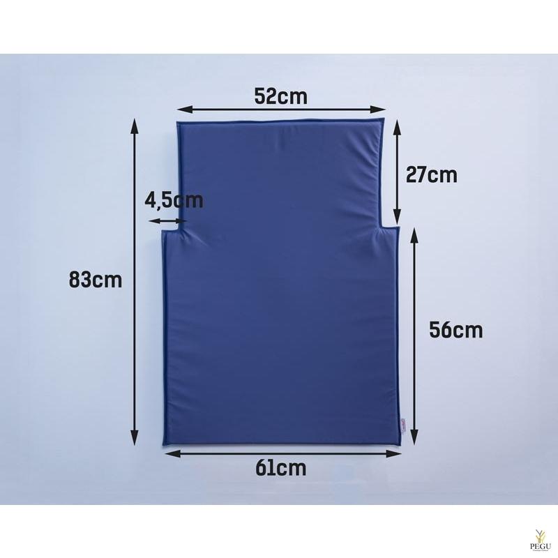 Матрас для пеленального столика kawaform синий