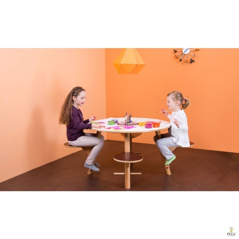 Игровой стол Tavi белый. Ламинированная фанера