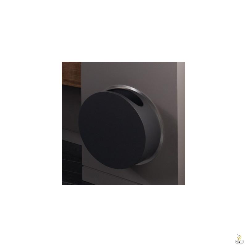 Настенная мусорница RS3/B Ёмкость чёрная