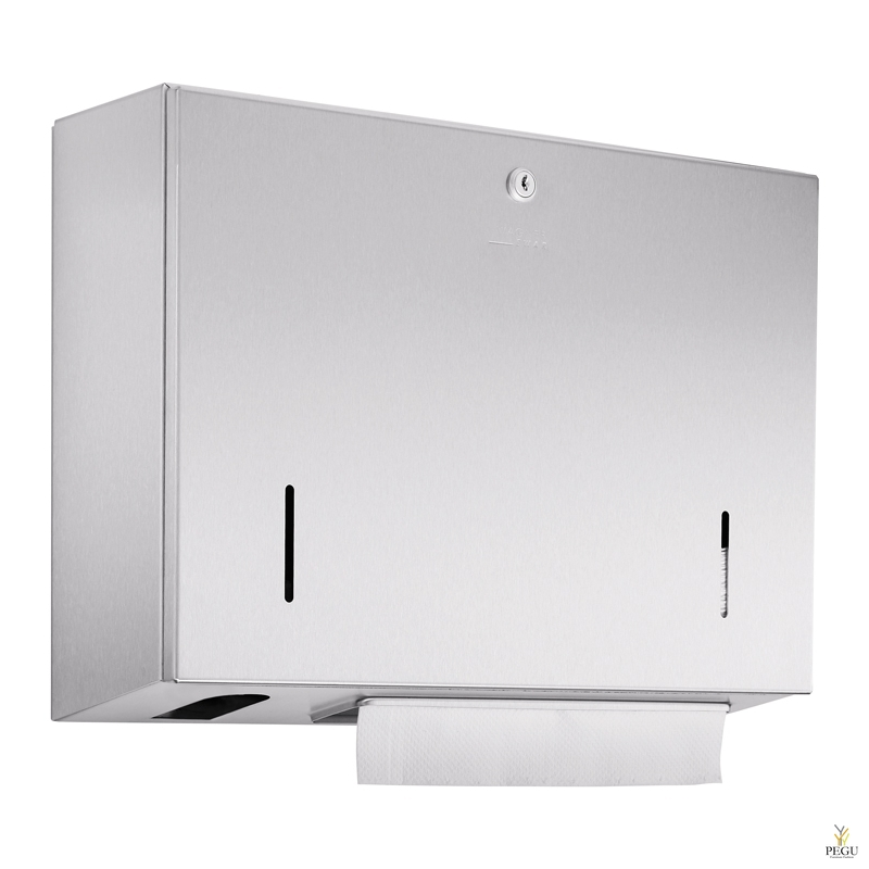 Дозатор для бумажных полотенец 500 шт + бесконтактный дозатор для мыла 500ml бутылка Н/Р сталь сатин