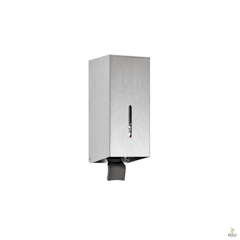 Дозатор для мыла 0,2l настенный нержавеющая сталь AISI304 сатин
