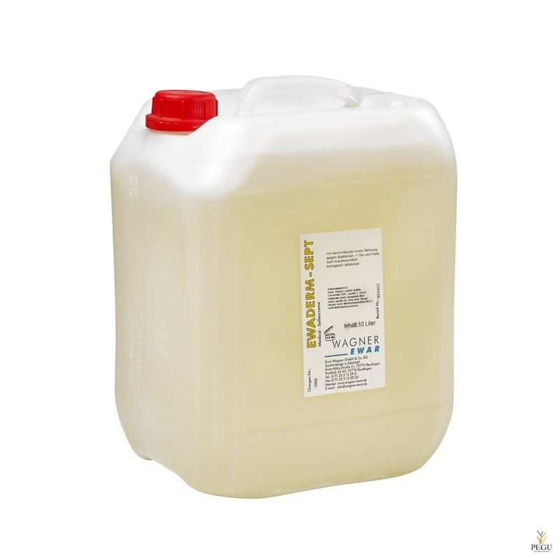 Vedelseep anti-bacterial Ewaderm Sept, WAGNER EWAR,  10L