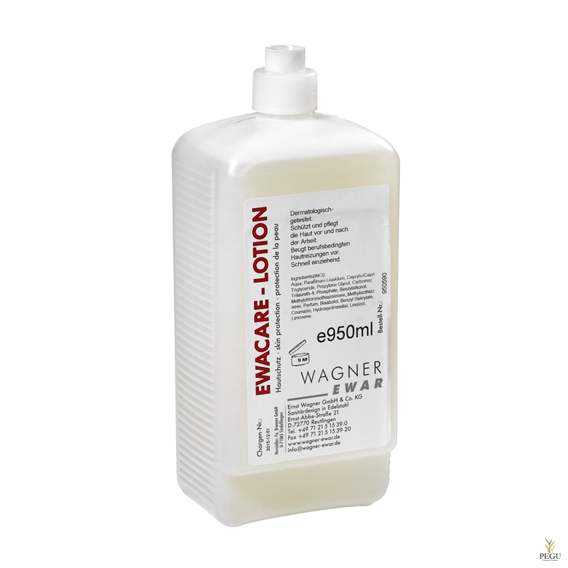Hand lotion, WAGNER EWAR, pudel  950ml (12 tk kast)