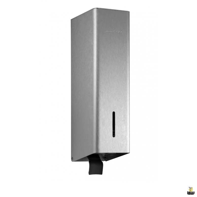 Дозатор для дезинфектанта с наполняемым бачком P-line Н/Р сталь AISI316L полированный 0,7 l