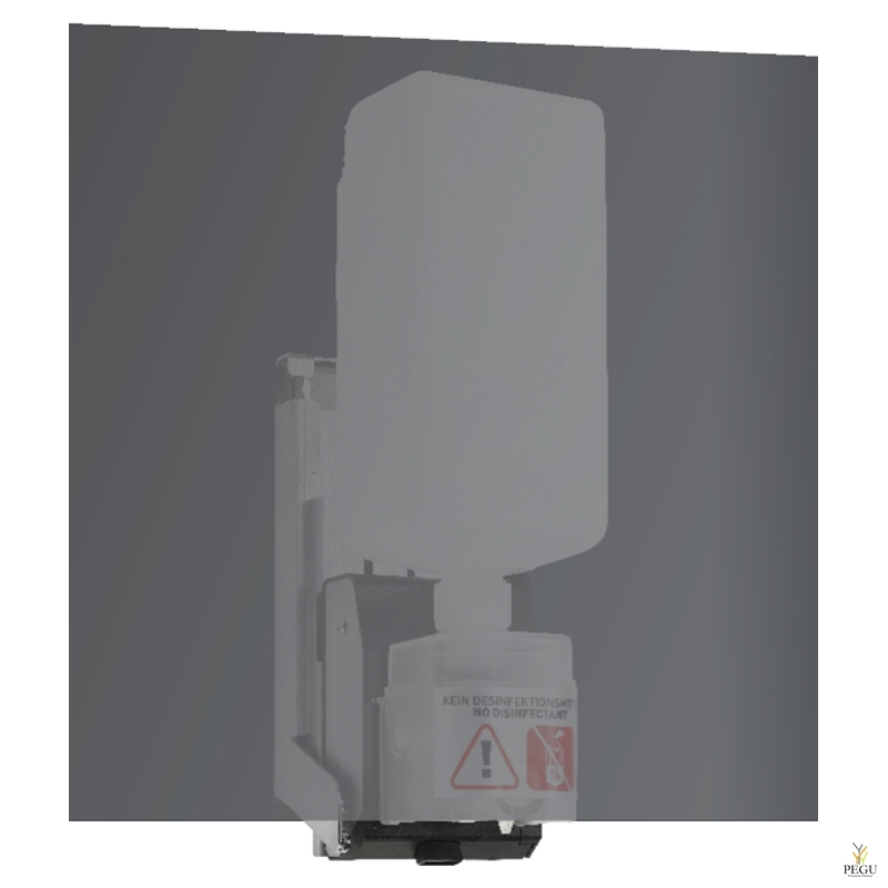Wagner Ewar kontaktivaba seebidosaator peegli taha 950ml pudel satiin R/V teras