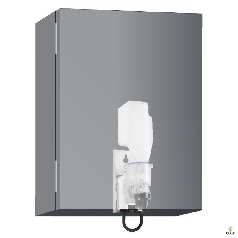 Wagner Ewar дозатор для жидкой пены в шкаф 400ml бутылка сатин Н/Р сталь