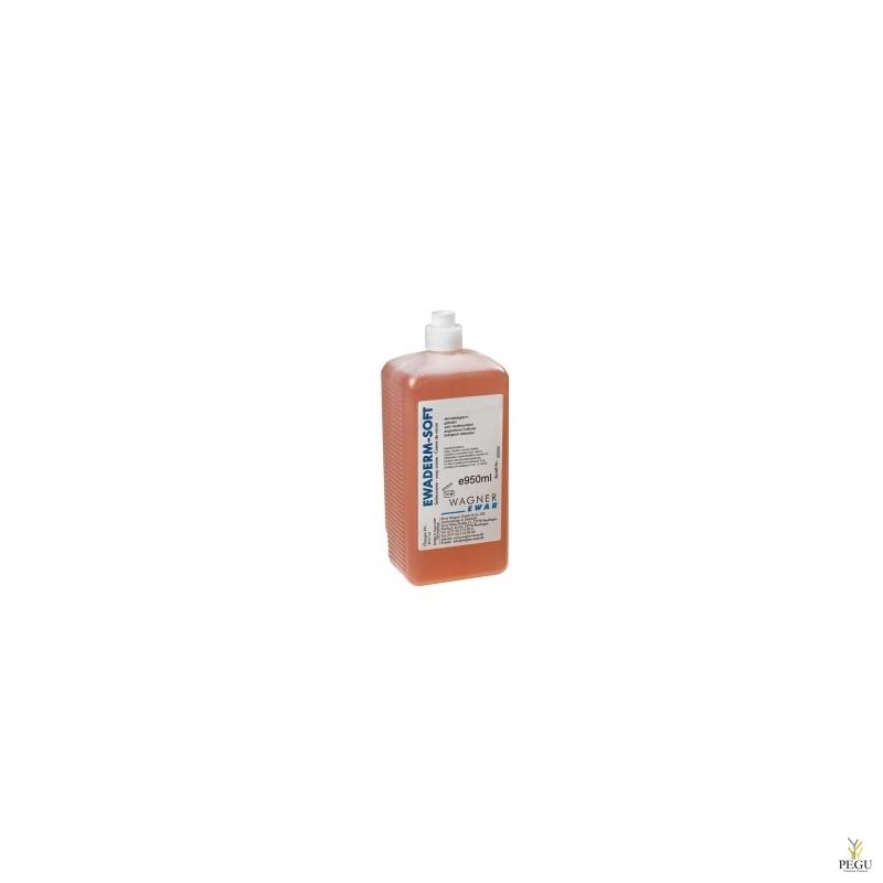 Vedelseep Ewaderm Soft, WAGNER EWAR, pudel  950ml (12 tk kast)