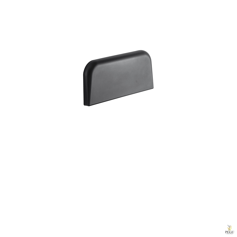Подставка под спину , настенная фиксация, черная