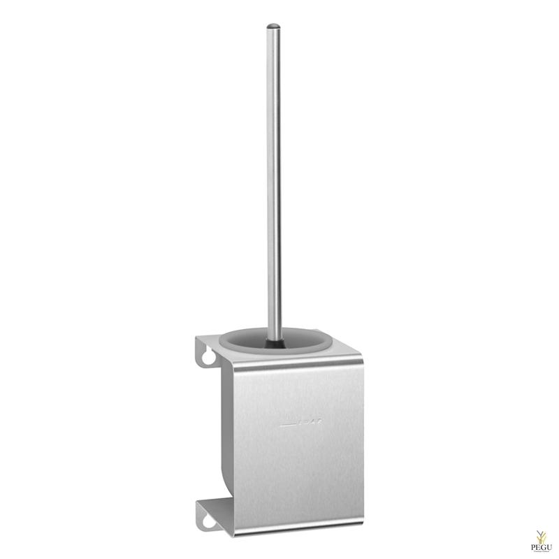 WC щетка с держателем P-Line,  сатин