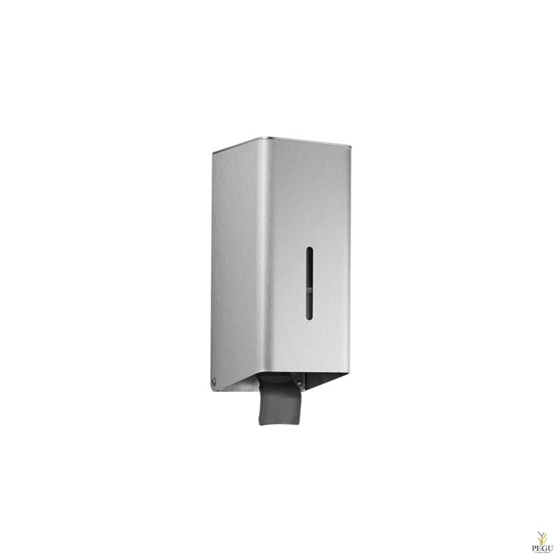 Дозатор для мыла 0,2l настенный без замка полированный