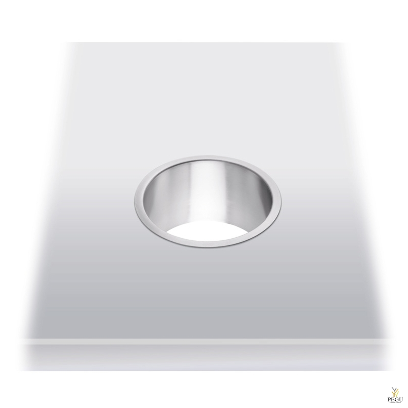Кольцо для мосорницы, в столешнице, Н/Р сталь