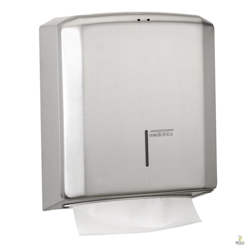 Дозатор для бумажных полотенец Н/Р сталь AISI304 матовый