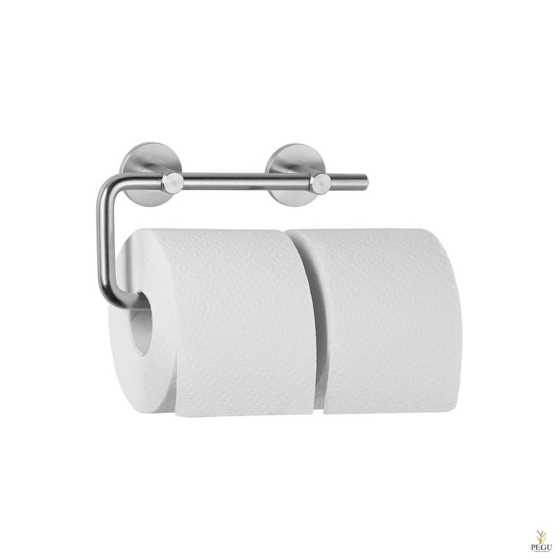 Держатель для туалетной бумаги 2-рулона Wagner Ewar AC252 Н/Р сталь полированный