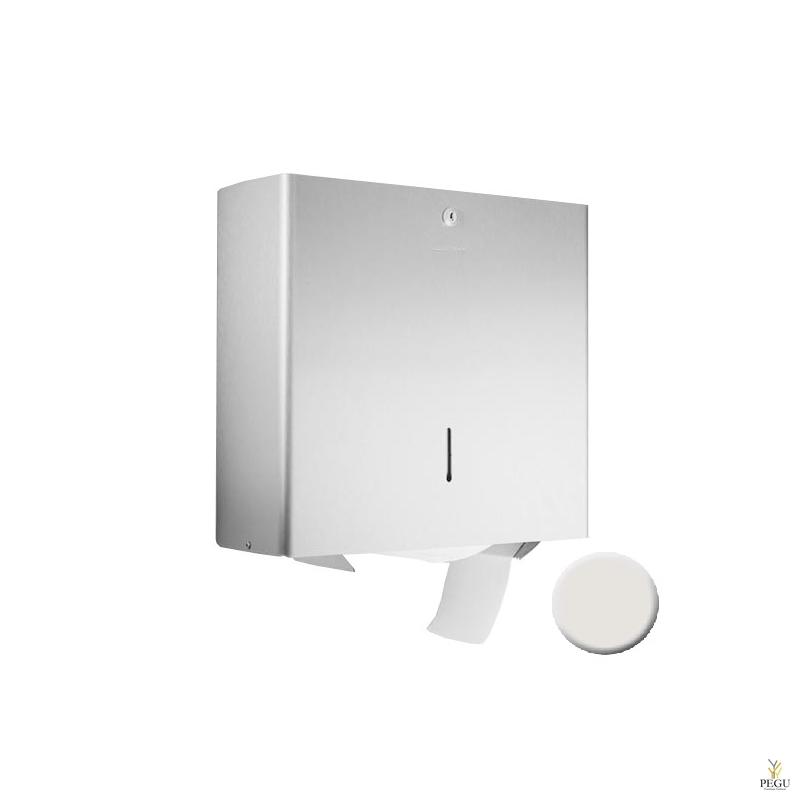 Держатель рулонной туалетной бумаги, белый