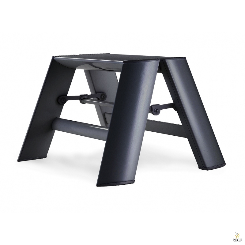 Дизайн лестница Hasegawa 1 ступень чёрная