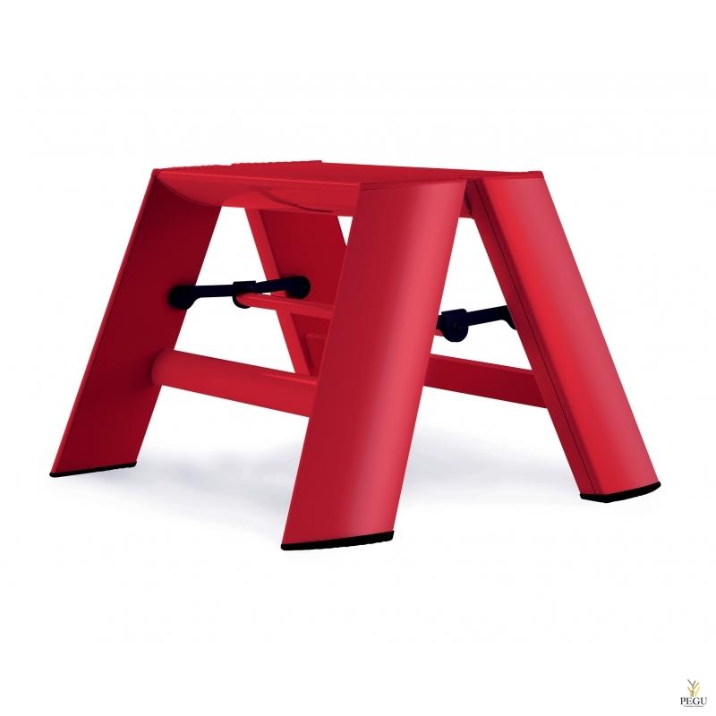 Дизайн лестница Hasegawa 1 ступень красная