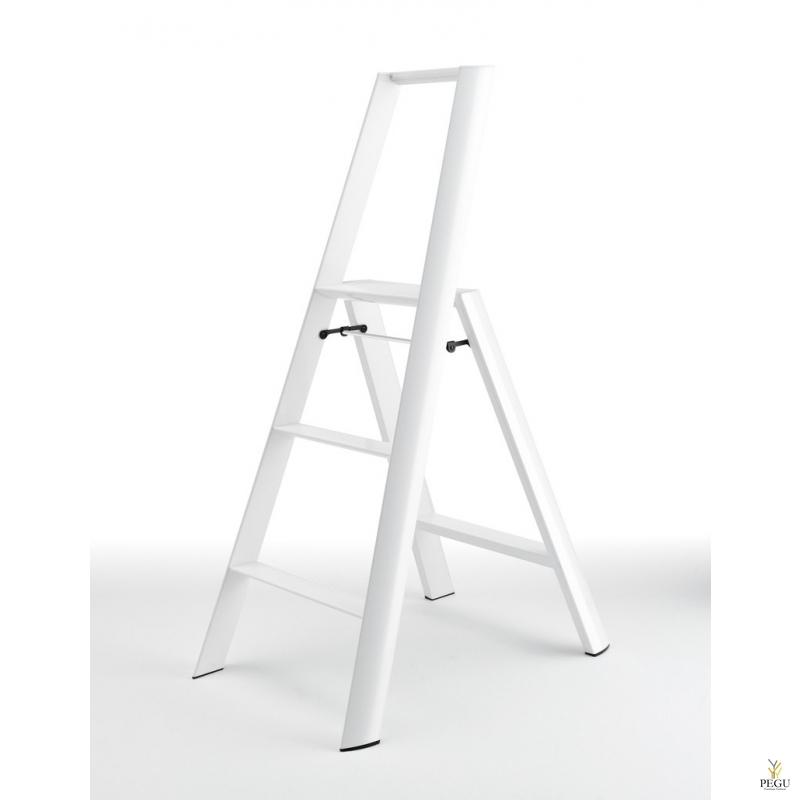Дизайн лестница  Hasegawa 3 ступени белая