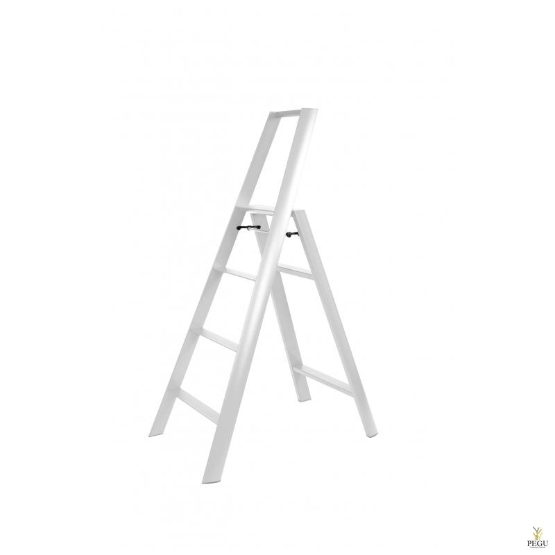 Дизайн лестница Hasegawa 4 ступени белая