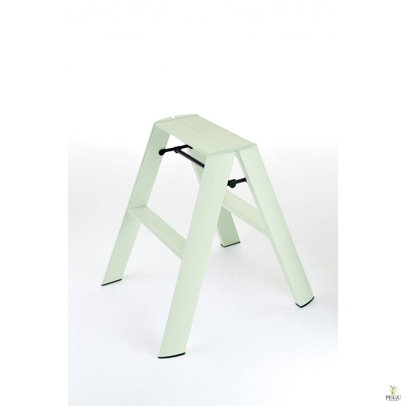 Дизайн лестница  Hasegawa 2 ступени ментол-зелёная