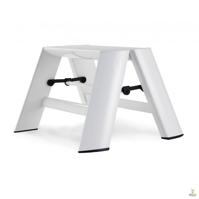 Дизайн лестница Hasegawa 1 ступень белая