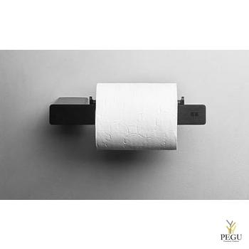 Tualett WC paberihoidja Unidrain Reframe PVD matt must1.jpg