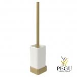 Haceka Aline щётка для туалета с настенным креплением металл/стекло золото
